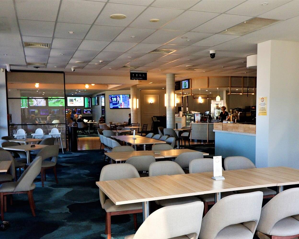 Inside Bridgeview Restaurant
