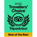Tripadvisor Travelers' Choice Best of the Best 2020